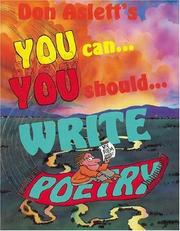 Cover of: You Can¿You Should¿ Write Poetry | Don Aslett