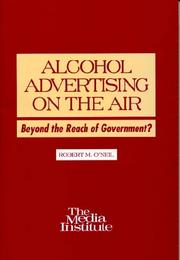 Cover of: Alcohol advertising on the air | Robert M. O