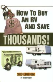 Cover of: How to Buy an Rv and Save $10000S!