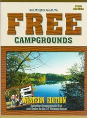 Cover of: Guide To Free Campgrounds-West 13h Edition