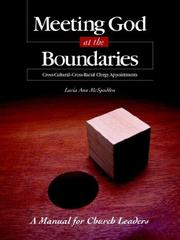 Cover of: Meeting God at the Boundaries