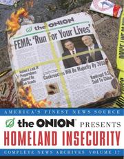 Cover of: Homeland Insecurity