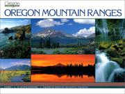 Cover of: Oregon mountain ranges