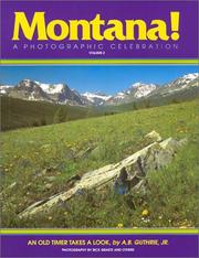 Cover of: Montana Photographic Celebration (Montana!)