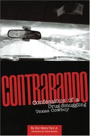 Cover of: Contrabando | Don Henry Ford Jr.