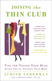 Cover of: Joining the Thin Club