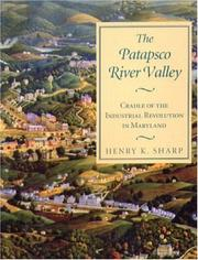 Cover of: The Patapsco River Valley