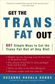Cover of: Get the Trans Fat Out
