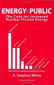 Cover of: Energy for the Public