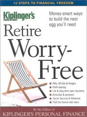 Cover of: Retire worry-free |