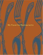 Cover of: My Favorite Restaurants Mini Journal | Potter Style