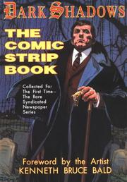 Cover of: Dark shadows, the comic strip book