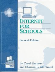 Cover of: Internet for schools