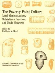 Cover of: The Poverty Point Culture