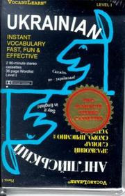 Cover of: Ukranian/English: Level 1: VocabuLearn