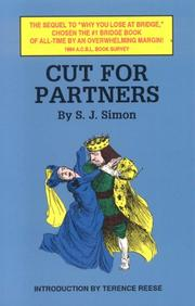 Cover of: Cut for Partners