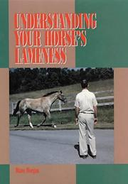 Cover of: Understanding your horse's lameness
