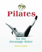 Cover of: Pilates for the Dressage Rider