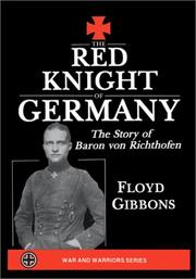 Cover of: The Red Knight of Germany
