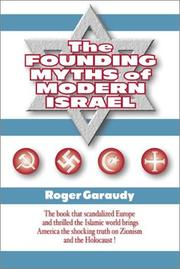 Cover of: The Founding Myths of Modern Israel