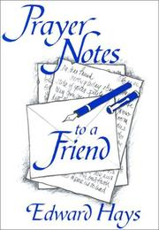 Cover of: Prayer Notes to a Friend