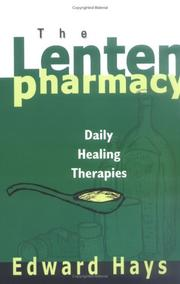 Cover of: The Lenten Pharmacy
