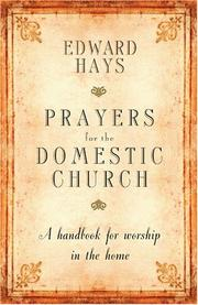 Cover of: Prayers for the Domestic Church
