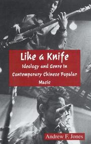 Cover of: Like a knife