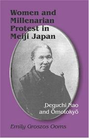 Cover of: Women and millenarian protest in Meiji Japan