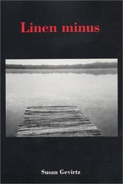 Cover of: Linen minus