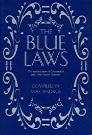 Cover of: The Blue Laws
