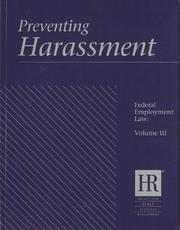 Cover of: Preventing Harassment