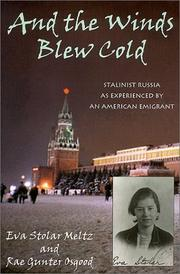 Cover of: And the winds blew cold