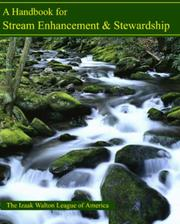 Cover of: A Handbook for Stream Enhancement & Stewardship