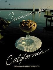 Cover of: Cuisine of California