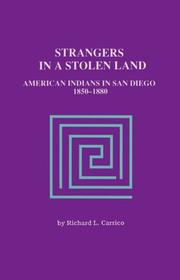 Cover of: Strangers in a stolen land | Richard L. Carrico