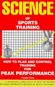 Cover of: Science of Sports Training