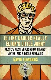 Cover of: Is Tiny Dancer Really Elton