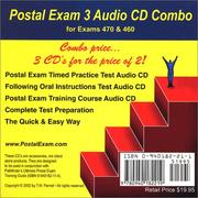 Cover of: Postal Exam 3 Audio CD Combo | T. W. Parnell