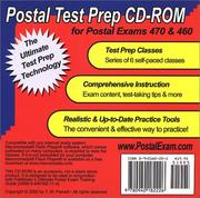 Cover of: Postal Test Prep CD-ROM