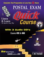 Cover of: Postal Exam 460 Quick Course with 3 Audio CD's