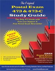 Cover of: Original Postal Exam 473 & 473-C Study Guide
