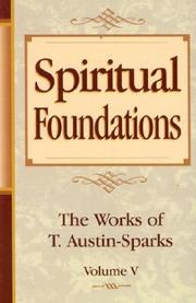 Cover of: Spiritual Foundations