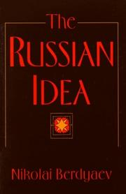 Cover of: Russkai︠a︡ idei︠a︡