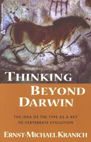 Cover of: Thinking Beyond Darwin