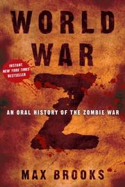 Cover of: World War Z | Max Brooks