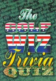Cover of: The Golf Wiz Trivia Quiz