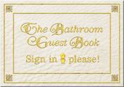 Cover of: The Bathroom Guest Book