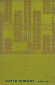 Cover of: Lloyd Wright, architect
