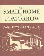 Cover of: Small Home of Tomorrow